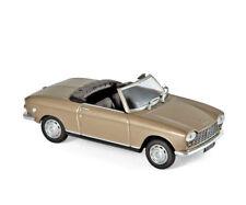 Peugeot 204 Cabrio 1967 beige metallic 1:43 Norev 472443 neu & OVP