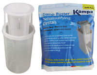 Kampa Damp Moisture Buster + 1Kg Dehumidifying Crystals