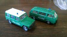Wiking 2 Emergency Vehicle Trucks Nice Loose