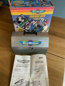 Micro Machines Tool Box City Playset