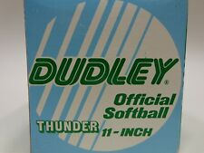 Dudley Official Softball Thunder P11 Red Gwsp47 Vintage Nos