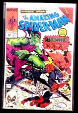 The Amazing Spiderman #312 Green Goblin vs Hobgoblin signed by Todd McFarlane NM