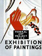 Pubblicità federale ARTE progetto esposizione di dipinti Arte Poster Stampa lv874