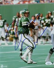 Boomer Esiason New York Jets Signed 8x10 Glossy Photo JSA Authenticated