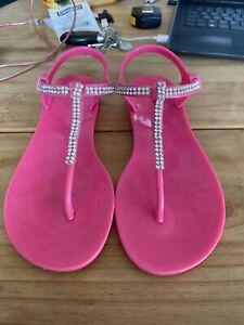 Michael Kors Pink Sandals, Size 4