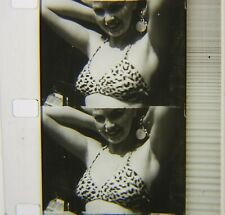 Vtg 16mm B+W Movie SOUND FILM Screen Test of BARBARA NICHOLS Hollywood PIN-UP