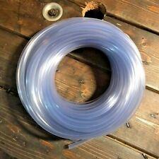 Clear Plastic Tubing 10 Ft Length 14 Id Flexible Vinyl Hose Bpa Free