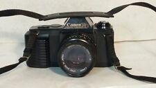 """Canon T50 Camera"" 35mm Film Canon 50mm Lens Canon 244T Speedlite Flash PARTS"