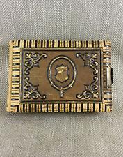 Victorian Photograph Album Photo CDV 19thC Vintage Vtg Antique Embossed Leather
