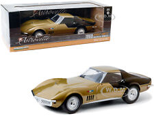 1969 corvette stingray made by zee toys in 1970s diecast car  Metal toy car bin14