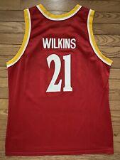 Champion Jersey Dominique Wilkins Atlanta Hawks Large