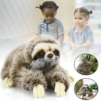 """13.7"""" Cute Sloth Plush Animals Toed Cuddly Soft Stuffed Toy Gift Portable"""