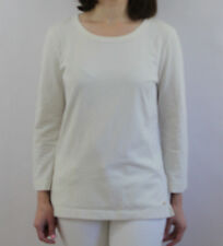 Kate Spade New York solid white Keyhole Back Knit 3/4 Sleeve Top Size Small