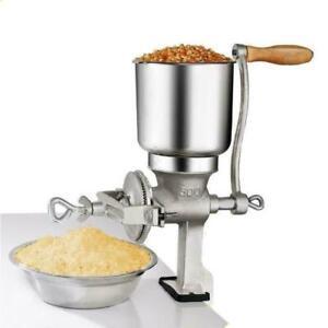 US Grinder Corn Coffee Wheat Manual Hand Crank Labor-saving Grains Iron Nut Mill