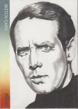 "The Prisoner - Marcia Dye ""Patrick McGoohan - Number Six"" Sketch Card"