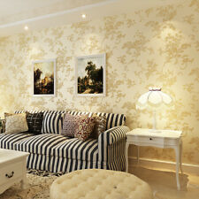 10M Luxury Vintage Wallpaper Rolls Damask Victorian Embossed Textured Wall Paper
