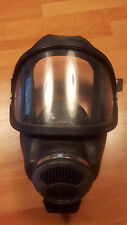 Feuerwehr - Auer 3S Atemschutzmaske Gummi Vollmaske Gasmaske Atemschutz