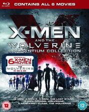 X-Men and the Wolverine: Adamantium Collection [Blu-ray Region Free 6-Movies]
