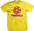 Venezuela Stars Soccer Ball Venezuelan Country Team Born From VEN Men's T-Shirt