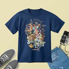 123Disney T-Shirt for Adults - Splash Mountain - Navy T-Shirt Regular Size S-3XL
