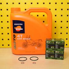 Honda CRF 150 250 450 R X Ölwechselset Öl Ölfilter Repsol Moto Off Road Motoröl