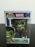 Funko Pop Marvel: Holiday Hulk with Stocking Collectible Figure #398, Multicolor