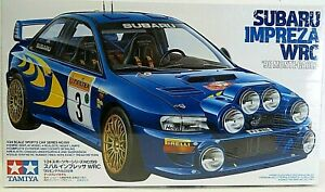 TAMIYA SUBARU IMPREZA WRC '98 MONTE-CARLO 1:24 plastic kit 24199 New