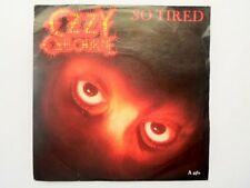 "Ozzy Osbourne - So Tired 7"" Vinyl Single Epic A4452"