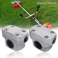 26/28mm Handle Holder Bracket Clamp For Various Strimmer Trimmer Brush Cutter