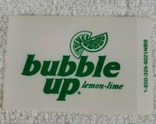 Four Bubble Up Vending Machine Flavor Strip 3 1/2 X 2 1/4