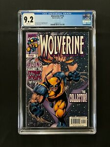 Wolverine #136 CGC 9.2 (1999) - The Collector!