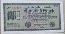 Reichsbanknote 1000 Mark 1922 Deutsches Reich 15.09.1922 Banknote Rarität!!!
