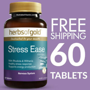 Herbs of Gold Stress Ease 60 Tablets
