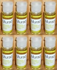 8-Murad Renewing Cleansing Oil for Face Eyes & Lips 1 oz x 8