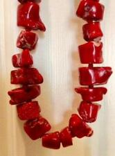 Heavy Statement piece $4200.00 Originally! Coral Huge Chunk Necklace -