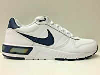 SCARPE SNEAKERS UOMO NIKE ORIGINALE NIGHTGAZER LEATHER 654871 PELLE PE NUOVO