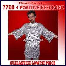 Aluminium Chainmail Shirt Butted Aluminum Chain Mail Haubergeon Medieval Armor