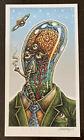 Dope Toxic Atmosphere EMEK Climate Change Art Print Poster Alien Pollution mondo