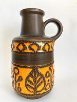 Scheurich 408-40 Fat lava Midcentury Vase Keramik 70s WGP vase Floor vase