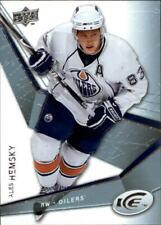 2008-09 Upper Deck Ice Hockey #1 Ales Hemsky