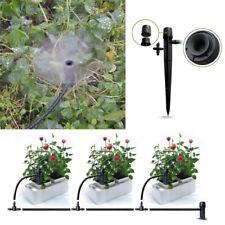 50x Adjustable Mini Water Flow Irrigation Drippers Sprinkler Emitter Drip System