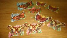 9  Vintage Scraps  Mix  Butterfly