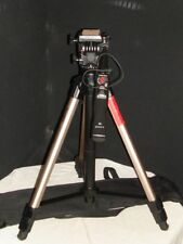 VCT-870RM FULL SIZE TRIPOD W/ INTERGRATED REMOTE HANDLE + CARRYING BAG MINT