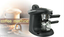 Black Coffee Maker Automatic High-Pressure Coffee Steam Household Coffee Machine