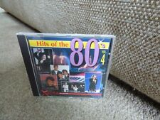 VARIOUS - HITS OF THE 80's : VOLUME 4 (RARE 1993 PICKWICK CD COMPILATION) OOP