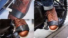 TUCANO URBANO Proteggi scarpa coprileva cambio da moto salvascarpa in pelle