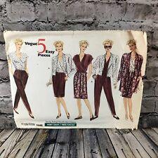 Vogue 2446 5 Pc Easy Wardrobe Uncut Sewing Pattern Size 14 16 18