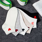 Womens Lady Heart Casual Cute Heart Ankle High Low Cut Soft Cotton Socks