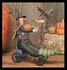 "WITCH in a Shoe - ""Kickstart Halloween"" - Williraye - 6164 - New in Box"