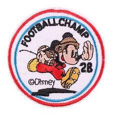 Patch écusson mickey disney sequin mouse souris 9 cm x 13 cm